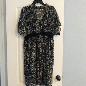 Brand new ! Gorgeous chiffon dress